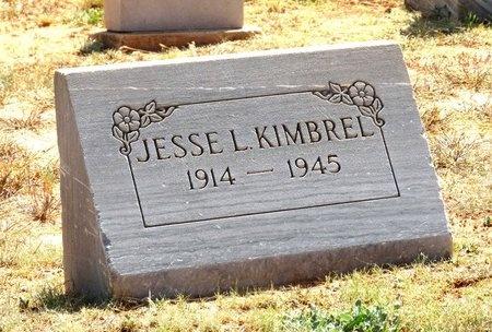 KIMBREL, JESSE L - Taylor County, Texas | JESSE L KIMBREL - Texas Gravestone Photos