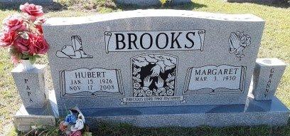 BROOKS, HUBERT - Titus County, Texas | HUBERT BROOKS - Texas Gravestone Photos