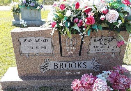 MCGILL BROOKS, H MARGRETTA - Titus County, Texas | H MARGRETTA MCGILL BROOKS - Texas Gravestone Photos
