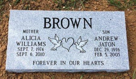 BROWN, ANDREW JATON - Titus County, Texas | ANDREW JATON BROWN - Texas Gravestone Photos