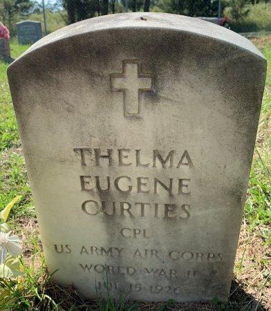 CURTIS (VETERAN WWII), THELMA EUGENE - Titus County, Texas   THELMA EUGENE CURTIS (VETERAN WWII) - Texas Gravestone Photos