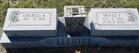 ELLIOTT, MYRTIS F - Titus County, Texas | MYRTIS F ELLIOTT - Texas Gravestone Photos