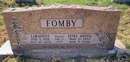 FOMBY, LETHA ARNELL - Titus County, Texas | LETHA ARNELL FOMBY - Texas Gravestone Photos