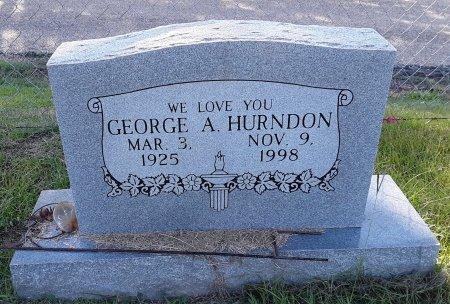 HURNDON, GEORGE A - Titus County, Texas | GEORGE A HURNDON - Texas Gravestone Photos
