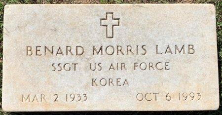 LAMB (VETERAN KOR), BENARD MORRIS - Titus County, Texas | BENARD MORRIS LAMB (VETERAN KOR) - Texas Gravestone Photos