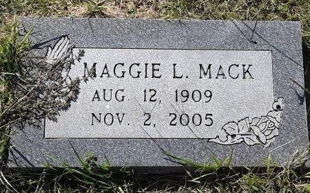 MACK, MAGGIE L - Titus County, Texas | MAGGIE L MACK - Texas Gravestone Photos