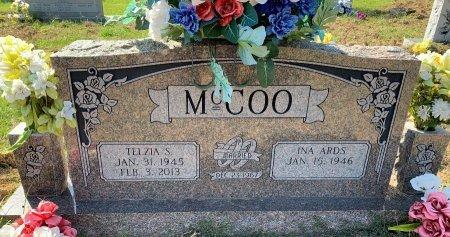 MCCOO, TELZIA S - Titus County, Texas | TELZIA S MCCOO - Texas Gravestone Photos