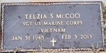 MCCOO (VETERAN VIET), TELZIA S - Titus County, Texas   TELZIA S MCCOO (VETERAN VIET) - Texas Gravestone Photos