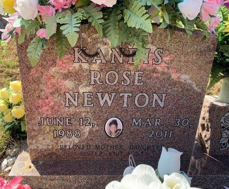 NEWTON, KANDIS ROSE - Titus County, Texas   KANDIS ROSE NEWTON - Texas Gravestone Photos