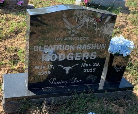 RODGERS, CLEATRICK RASHUN - Titus County, Texas   CLEATRICK RASHUN RODGERS - Texas Gravestone Photos