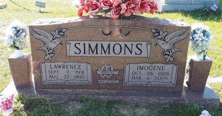 SIMMONS, LAWRENCE - Titus County, Texas   LAWRENCE SIMMONS - Texas Gravestone Photos