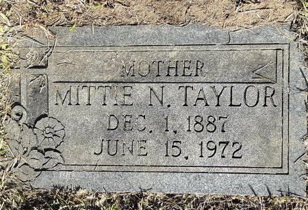 PHILLIPS TAYLOR, MITTIE N - Titus County, Texas | MITTIE N PHILLIPS TAYLOR - Texas Gravestone Photos