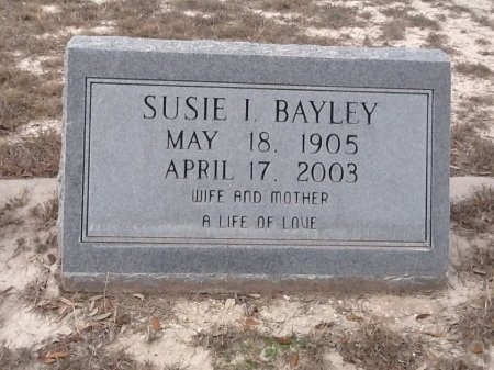 JONES BAYLEY, SUSIE IRENE - Val Verde County, Texas | SUSIE IRENE JONES BAYLEY - Texas Gravestone Photos