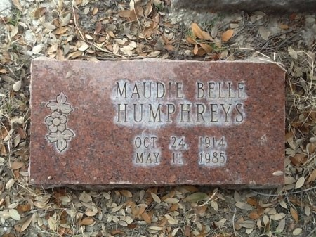 MCNUTT HUMPHREYS, MAUDIE BELLE - Val Verde County, Texas | MAUDIE BELLE MCNUTT HUMPHREYS - Texas Gravestone Photos
