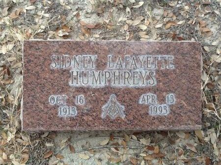 HUMPHREYS, SIDNEY LAFAYETTE - Val Verde County, Texas | SIDNEY LAFAYETTE HUMPHREYS - Texas Gravestone Photos