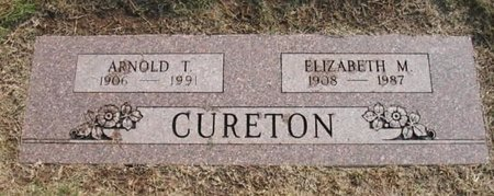 MILLER CURETON, ELIZABETH - Wichita County, Texas | ELIZABETH MILLER CURETON - Texas Gravestone Photos