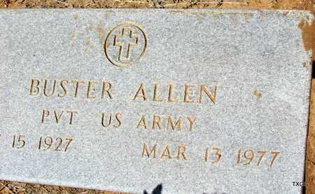 ALLEN (VETERAN WWII), BUSTER - Wilbarger County, Texas | BUSTER ALLEN (VETERAN WWII) - Texas Gravestone Photos