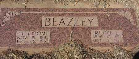 BEAZLEY, THOMAS T - Wilbarger County, Texas | THOMAS T BEAZLEY - Texas Gravestone Photos