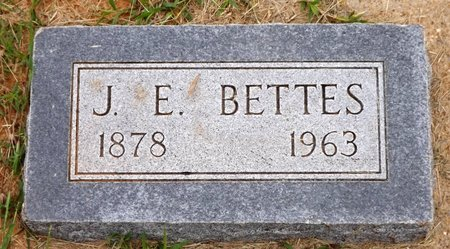 BETTES, J. E. - Wilbarger County, Texas | J. E. BETTES - Texas Gravestone Photos