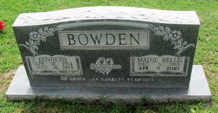 BOWDEN, MADIE BELLE - Wilbarger County, Texas | MADIE BELLE BOWDEN - Texas Gravestone Photos