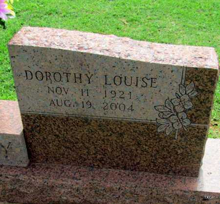 DUDLEY, DOROTHY LOUISE (CLOSE UP) - Wilbarger County, Texas | DOROTHY LOUISE (CLOSE UP) DUDLEY - Texas Gravestone Photos