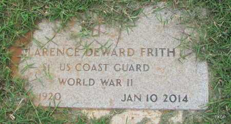 FRITH (VETERAN WWII), CLARENCE DEWARD - Wilbarger County, Texas | CLARENCE DEWARD FRITH (VETERAN WWII) - Texas Gravestone Photos