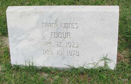 FUQUA, FRANK JONES - Wilbarger County, Texas | FRANK JONES FUQUA - Texas Gravestone Photos