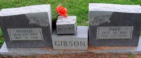 GIBSON, FAYE - Wilbarger County, Texas | FAYE GIBSON - Texas Gravestone Photos