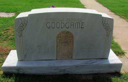 GOODGAME, LEE - Wilbarger County, Texas | LEE GOODGAME - Texas Gravestone Photos