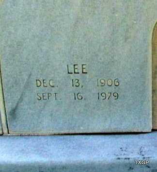 GOODGAME, LEE (CLOSE UP) - Wilbarger County, Texas | LEE (CLOSE UP) GOODGAME - Texas Gravestone Photos