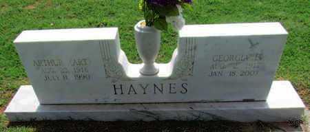 HAYNES, GEORGIA E - Wilbarger County, Texas | GEORGIA E HAYNES - Texas Gravestone Photos