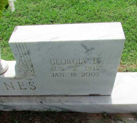 HAYNES, GEORGIA E (CLOSE UP) - Wilbarger County, Texas | GEORGIA E (CLOSE UP) HAYNES - Texas Gravestone Photos