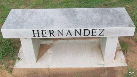 HERNANDEZ PLOT MARKER,  - Wilbarger County, Texas    HERNANDEZ PLOT MARKER - Texas Gravestone Photos