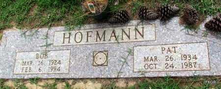 HOFFMAN, BOB - Wilbarger County, Texas | BOB HOFFMAN - Texas Gravestone Photos