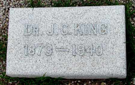 KING, J. C., DR. - Wilbarger County, Texas | J. C., DR. KING - Texas Gravestone Photos