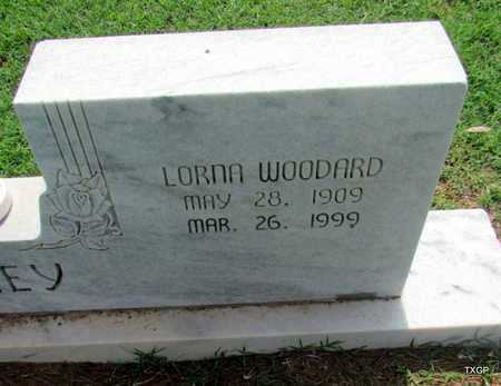 WOODARD LAKEY, LORNA (CLOSE UP) - Wilbarger County, Texas | LORNA (CLOSE UP) WOODARD LAKEY - Texas Gravestone Photos