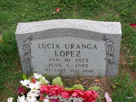 LOPEZ, LUCIA - Wilbarger County, Texas | LUCIA LOPEZ - Texas Gravestone Photos