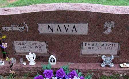 NAVA, SR, JIMMY RAY - Wilbarger County, Texas | JIMMY RAY NAVA, SR - Texas Gravestone Photos