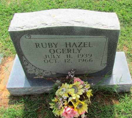 "OGERLY, RUBY HAZEL ""MRS WELDON"" - Wilbarger County, Texas | RUBY HAZEL ""MRS WELDON"" OGERLY - Texas Gravestone Photos"