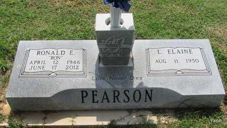 PEARSON, RONALD E - Wilbarger County, Texas   RONALD E PEARSON - Texas Gravestone Photos