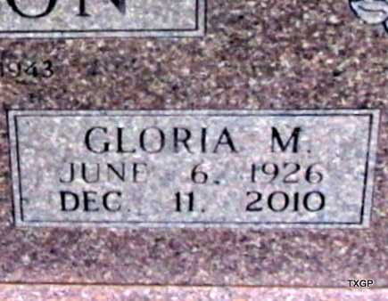 PETERSON, GLORIA MILDRED (CLOSE UP) - Wilbarger County, Texas | GLORIA MILDRED (CLOSE UP) PETERSON - Texas Gravestone Photos
