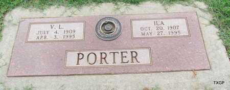 PORTER, V L - Wilbarger County, Texas   V L PORTER - Texas Gravestone Photos