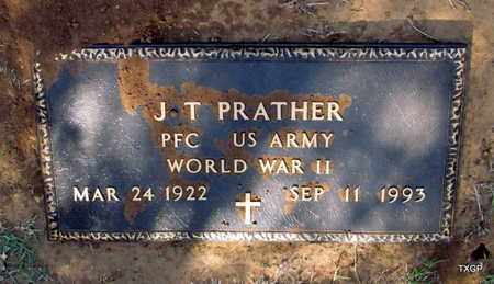 PRATHER (VETERAN WWII), J T - Wilbarger County, Texas | J T PRATHER (VETERAN WWII) - Texas Gravestone Photos