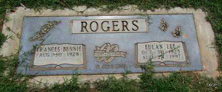ROGERS, EULAN LEE - Wilbarger County, Texas | EULAN LEE ROGERS - Texas Gravestone Photos