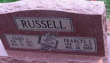 RUSSELL, FRANCES LOUISE - Wilbarger County, Texas | FRANCES LOUISE RUSSELL - Texas Gravestone Photos