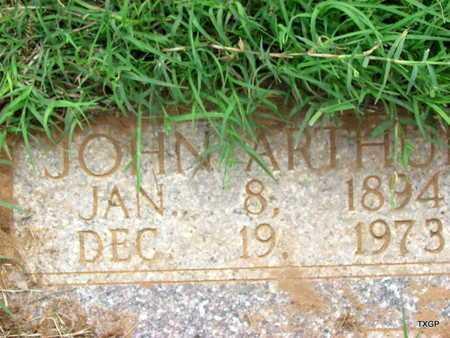 STOREY, JOHN ARTHUR (CLOSE UP) - Wilbarger County, Texas | JOHN ARTHUR (CLOSE UP) STOREY - Texas Gravestone Photos