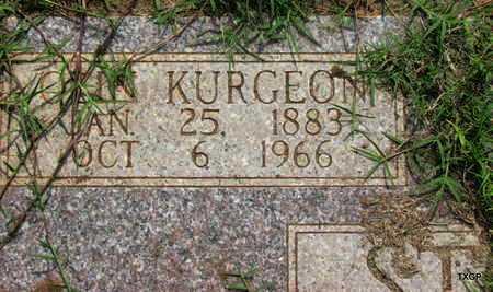 STOREY, OLIN KURGEON (CLOSE UP) - Wilbarger County, Texas | OLIN KURGEON (CLOSE UP) STOREY - Texas Gravestone Photos