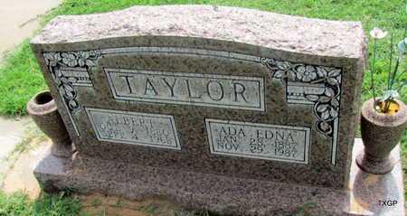 TAYLOR, ALBERT - Wilbarger County, Texas | ALBERT TAYLOR - Texas Gravestone Photos