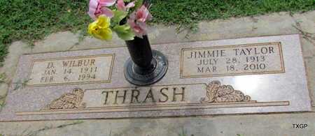TAYLOR THRASH, JIMMIE - Wilbarger County, Texas | JIMMIE TAYLOR THRASH - Texas Gravestone Photos
