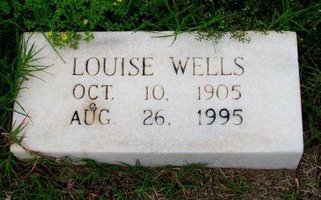 WELLS, LOUISE - Wilbarger County, Texas | LOUISE WELLS - Texas Gravestone Photos